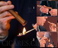 allumer un cigare