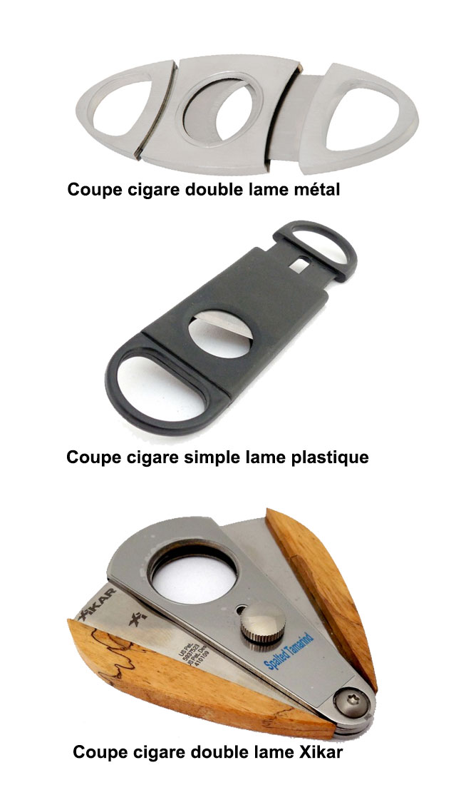 coupe cigare guillotine