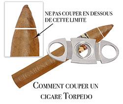 couper un cigare torpedo