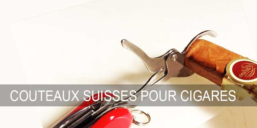 couteaux suisses coupe cigares